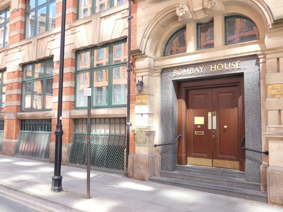 Bombay House,  Whitworth Street, Manchester